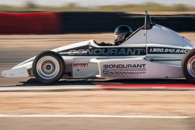 Bob Bondurant Driving School Crystal Dalman